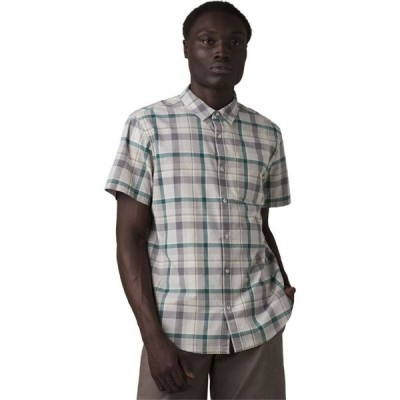 プラーナ Prana メンズ 半袖シャツ トップス Groveland Shirt Jungle