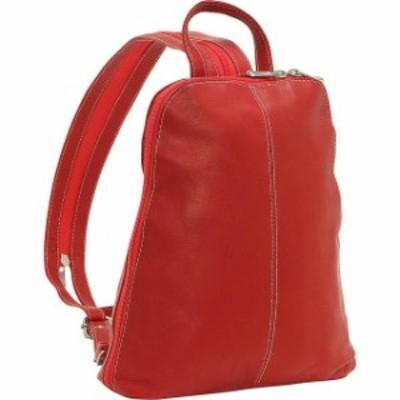 Le Donne Leather  ファッション バッグ Le Donne Leather U-Zip Womens Sling/Back Pack 5 Colors Backpack Handbag NEW