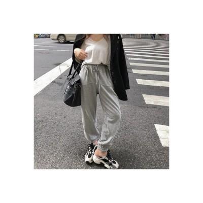 【送料無料】韓国風 ファッション 年 秋 ハイウエスト 脚長に見える ストレート ガ | 364331_A63719-5092449