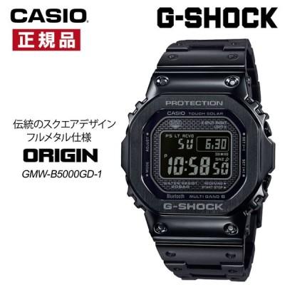 カシオ CASIO G-SHOCK Gショック 腕時計 メタルケース メタルバンド 国内正規品 Bluetooth搭載 電波時計 ソーラー スマホリンク GMW-B5000GD-1JF