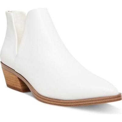 マッデン ガール Madden Girl レディース ブーツ ブーティー シューズ・靴 Zander Ankle Booties White