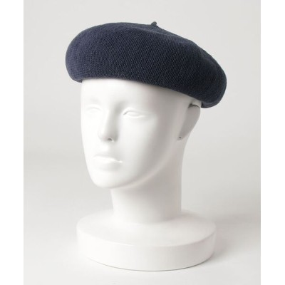 yield / 【Lovable】Cotton Thermo Beret LCA-N77349 WOMEN 帽子 > ハンチング/ベレー帽
