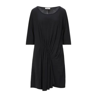 KITANA ミニワンピース&ドレス ブラック 46 ポリエステル 92% / ポリウレタン 8% ミニワンピース&ドレス