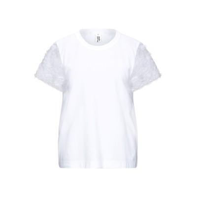 ノワールケイニノミヤ NOIR KEI NINOMIYA T シャツ ホワイト M コットン 100% / ポリエステル T シャツ