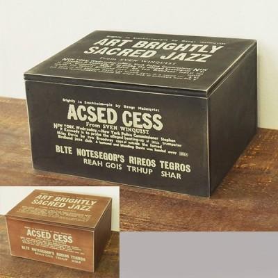 木箱 フタ付き 収納ボックス アンティーク ケース 男前  裁縫箱 救急箱 BREAブレア BREA1565