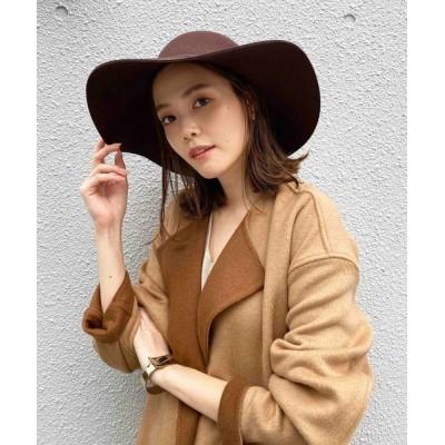PICCIN / 折りたたみつば広ボーラーハット WOMEN 帽子 > ハット