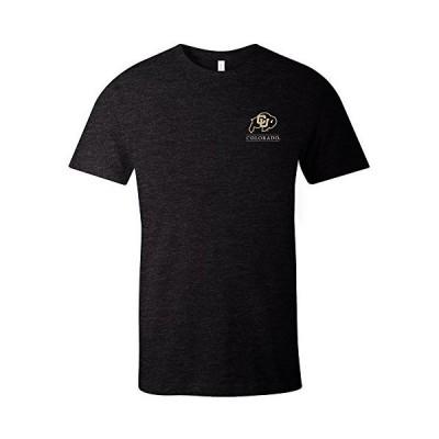 NCAA シンプルマスコット半袖トライブレンドTシャツ M ブラック