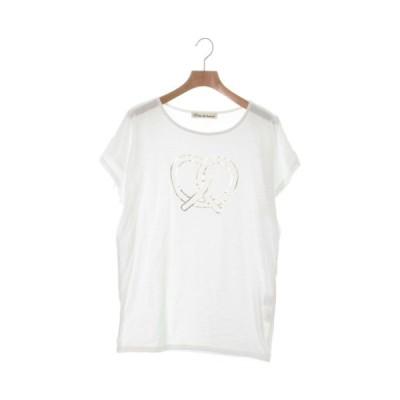 Porter des boutons ポルテデブトン Tシャツ・カットソー レディース