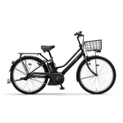 ヤマハ(YAMAHA) 電動アシスト自転車 PAS RIN PA26RN マットブラック