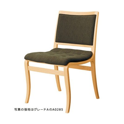 天童木工 Mathsson Series チェア M-0566WB-NT 張地グレード:V(ビニールレザー・人工皮革) ホワイトビーチ(ナチュラル)『受注生産・代引対象外』