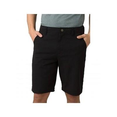 Prana プラナ メンズ 男性用 ファッション ショートパンツ 短パン Hybridizer Shorts - Black