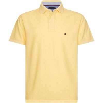 トミー ヒルフィガー Tommy Hilfiger メンズ ポロシャツ トップス Hilfiger Regular Polo Yellow