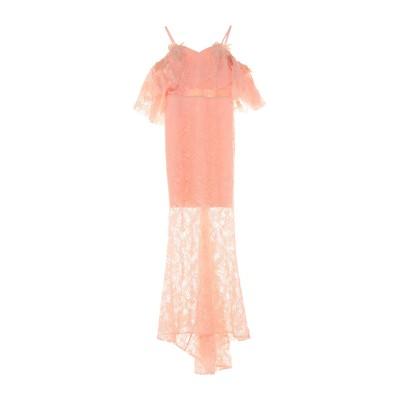 ALLURE ロングワンピース&ドレス ピンク 10 ポリエステル 90% / ポリウレタン 10% ロングワンピース&ドレス