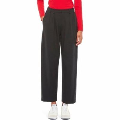 アルマーニ EMPORIO ARMANI レディース ボトムス・パンツ Milano Jersey Pleated Pants Black