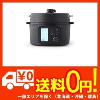 アイリスオーヤマ 電気圧力鍋 2.2L 自動メニュー69種類 2WAY グリル鍋 ガラス蓋付き レシピブック付き ブラッ・・・