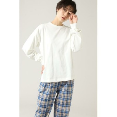 ROSE BUD/ローズ バッド ベーシックロングスリーブTシャツ ホワイト -