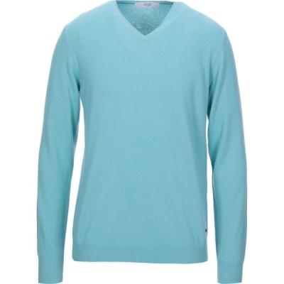 リウジョー LIU JO MAN メンズ ニット・セーター トップス sweater Light green