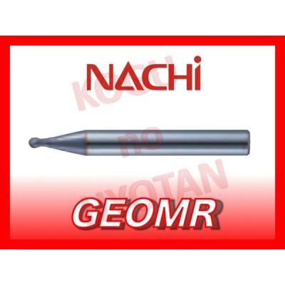【定形外可】NACHI  超硬ボールエンドミル X's ミルジオマイクロボール 0.5R R0.5 φ1.0