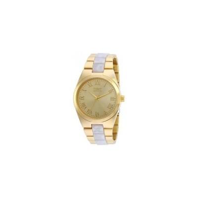 インヴィクタ INVICTA レディース エンジェル ゴールド スチール ブレスレット ケース クォーツ 腕時計 20481