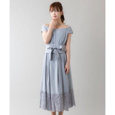 ドレス オフショルダーロングドレス(9R04-ZO61613)