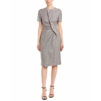 ESCADA エスカーダ ファッション ドレス Escada Wool-Blend Sheath Dress