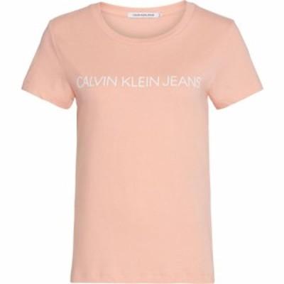 カルバンクライン Calvin Klein Jeans レディース Tシャツ トップス Tee Blossom