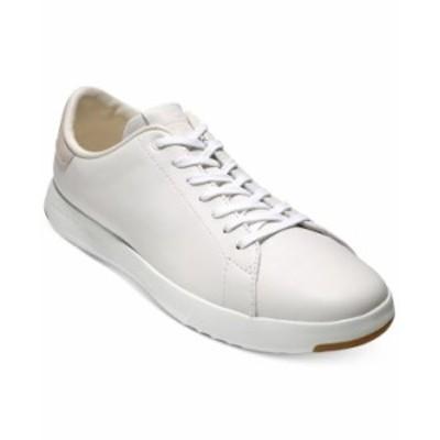 コールハーン メンズ スニーカー シューズ Men's GrandPro Tennis Sneaker White