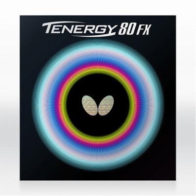 【最安値ラバーが多数の卓天】 卓球ラバー 初心者 中級者 上級者 Butterfly バタフライ テナジー80FX aaa0067 ネコポス便送料無料