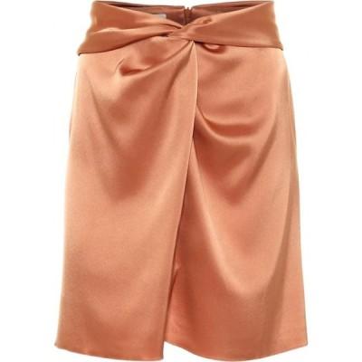 ナヌシュカ Nanushka レディース ミニスカート スカート Milo satin miniskirt Apricot