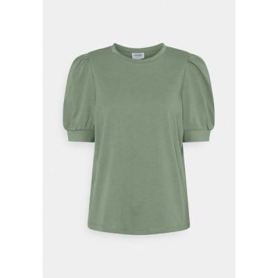 ヴェロモーダ Tシャツ レディース トップス VMKERRY O NECK  - Print T-shirt - laurel wreath