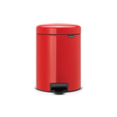 ブラバンシア brabantia ペダルビン 5L RED ベルギー製 112089