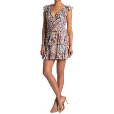 ラガ レディース ワンピース トップス Romina Short Ruffle Dress MULTI