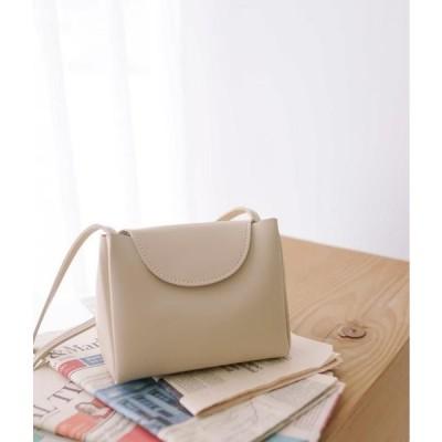 MIXXMIX レディース ショルダーバッグ Charming Leather Bag