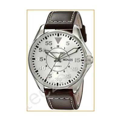 Hamilton Men's H64611555 Khaki Pilot Silver Day Date Dial Watch並行輸入品