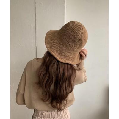 eim / soft straw hat WOMEN 帽子 > ハット