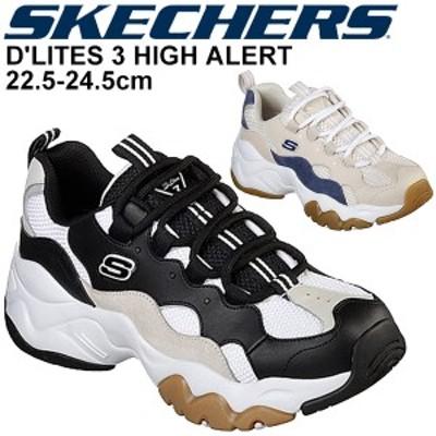 スニーカー 厚底 レディース シューズ スケッチャーズ SKECHERS ディーライト 3 ハイアラート DLITES 3 HIGH ALERT/ローカット ダッドシ