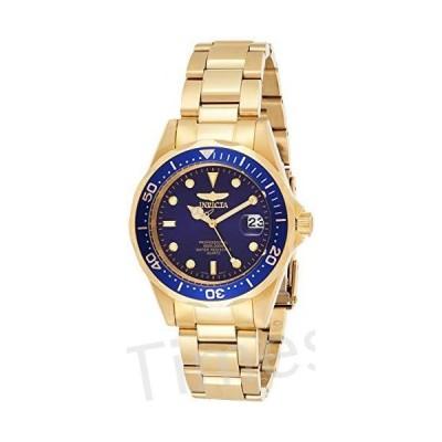 Invicta Men's Pro Diver 37.5mm Gold Tone Stainless Steel Quartz Watch, Gold