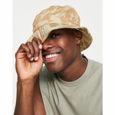 ボードマン Boardmans メンズ ハット バケットハット 帽子 Toggle Camo Bucket Hat ブラウン
