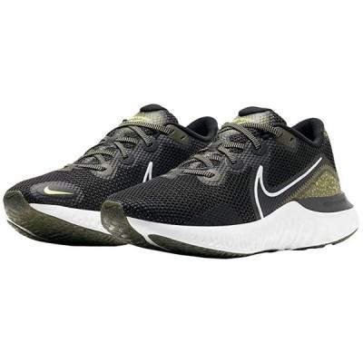 ナイキ Renew Run SE メンズ スニーカー 靴 シューズ Black/Summit White/Medium Olive