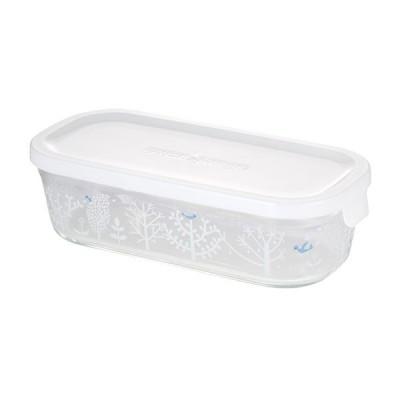 iwaki イワキ 保存容器 Shinzi Katoh Series シンジ カトウシリーズ パック&レンジ BOX ハーフ Petit bois 500ml B3246-SNC