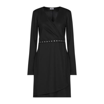 リュー ジョー LIU •JO ミニワンピース&ドレス ブラック M ポリエステル 95% / ポリウレタン 5% ミニワンピース&ドレス