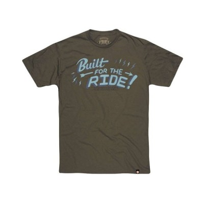 ROLAND SANDS DESIGN(ローランドサンズデザイン)BUILT FOR THE RIDE Tシャツ MILITARY GREEN
