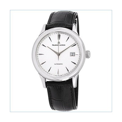 Maurice Lacroix Silver Dial Leather Strap Men's Watch LC6098SS0011301並行輸入品
