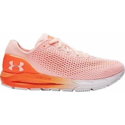 アンダーアーマー レディース スニーカー シューズ Under Armour Women's HOVR Sonic 4 Running Shoes Beta/White
