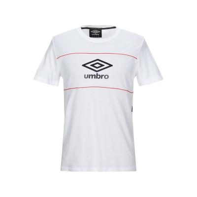 UMBRO T シャツ ホワイト M コットン 100% T シャツ