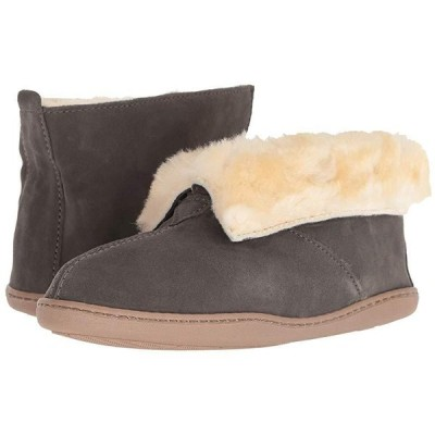 ミネトンカ Sheepskin Ankle Boot レディース スリッパ スリッポン Grey Suede