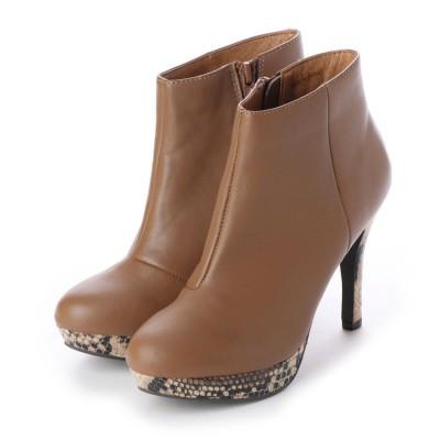 シューズラウンジ shoes lounge ショートブーツ 6011024O (オーク)