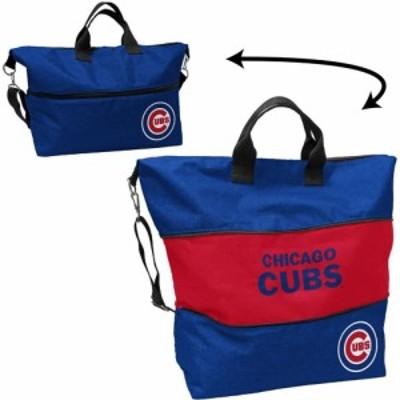 ロゴ Logo ユニセックス トートバッグ バッグ Chicago Cubs Crosshatch Tote