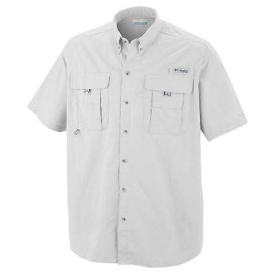 (取寄)コロンビア メンズ バハマ 2 ショートスリーブ シャツ Columbia Men's Bahama II SS Shirt White