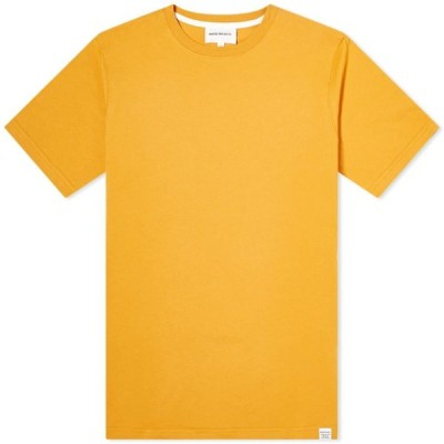 ノースプロジェクト Norse Projects メンズ Tシャツ トップス Niels Standard Tee Cadmium Orange